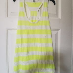 Bright Striped Splendid Tank Size L